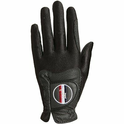 Kingsland Classic Unisex Gloves Everyday Riding Glove - Black All Sizes