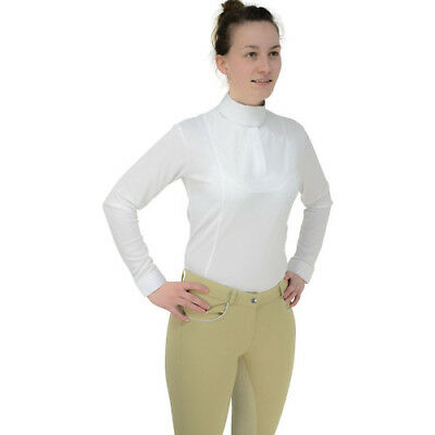 Hy Fashion Ladies Sandringham Long Sleeved Stock Womens Shirt Competition -