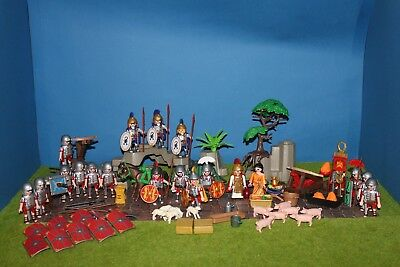 Playmobil RÖMER  Nachschubtruppe  Figuren TOP Set  Soldaten RAR