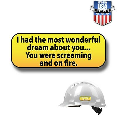 Hard Hat Stickers HardHat Sticker Decals Helmet IRONWORKER WELDER 10111