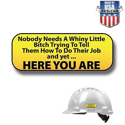 Hard Hat Stickers HardHat Sticker Decals Helmet IRONWORKER WELDER 10112