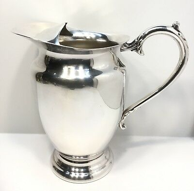 Primrose Plate Silverplate Water Pitcher , Vintage
