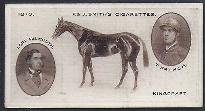 Smiths-Derby Winners-#07- Horse Racing - Kingcraft