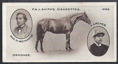 Smiths-Derby Winners-#24- Horse Racing - Ormonde