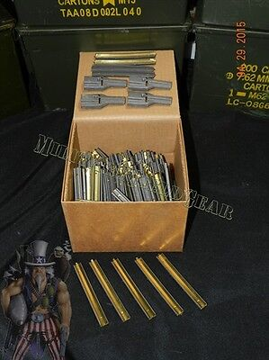 200ct Stripper Clips + 4 Mag Adapte / Spoon Loaders 5.56 .223 GGG Onced Unloaded