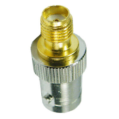 SMA Female to BNC F Coax Coaxial Adapter Converter Connector Jack Plug