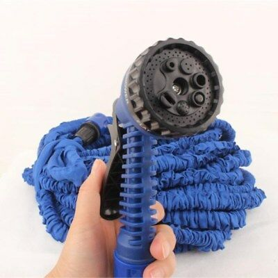 Tubo Estensibile Con Pistola Multigetto Per Giardino Magic Hose 15Mt 22.5Mt 30M