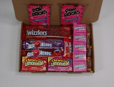 American Candy gift box - USA sweets hamper - nerds - Air heads - jolly rancher