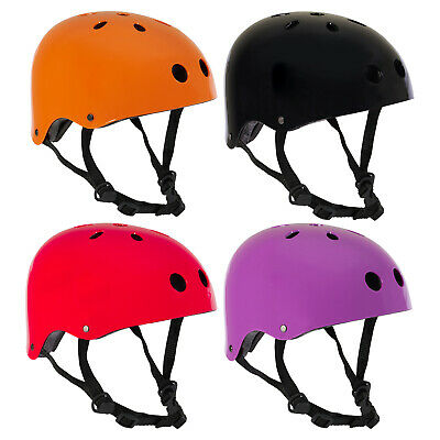 PedalPro Kids/Adult Gloss BMX Skate Safety Helmet Bike/Bicycle/Cycle/Scooter