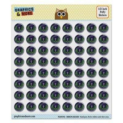Aztec Double Green Snakes Puffy Bubble Dome Scrapbooking Crafting Sticker Set