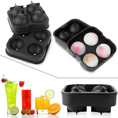 2018 Whiskey Ice Cube Ball Maker Mold Sphere Mould Party Tray Round Bar Silicone