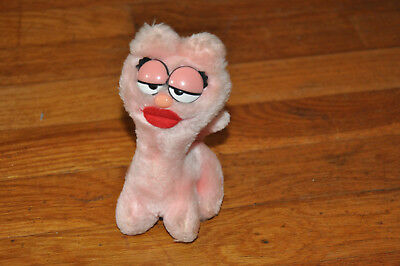 1984 Dakin Arlene Pink Plush Garfield Stuffed Toy Big Lips 6 Cute