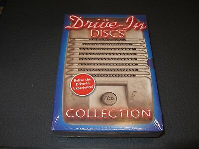 New/Sealed-OOP - Drive-In Discs Collection (2003) 3 Discs/6 Horror Films - RARE