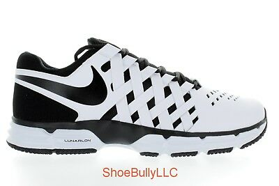 01704bfca034e Men s Nike Lunar Fingertrap Tr 4E 898065 100 White Black Deadstock Brand New