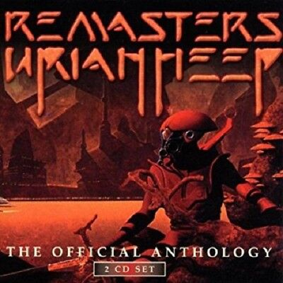 Uriah Heep ‎– Remasters - The Official Anthology (2-CD, 2001)