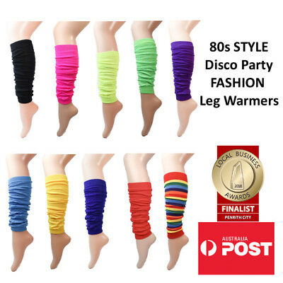 80s Style Disco Party Fashion Leg Warmers