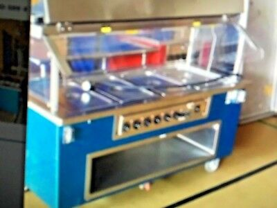 Food serving table