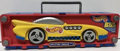 Hot Wheels Mattel Tara 1998 Car Case Splittin' Image II holds 6 cars New Rare