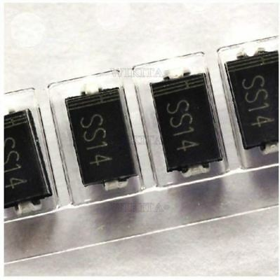 100Pcs Schottky Diode SS14 1N5819 Smd Ic New sw