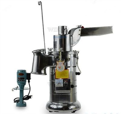 Powder Machine Chinese Superfine Fiber 20Kg/H New Continuous Hammer Mill wb