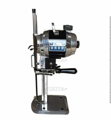 """220V Industrial 10"""" With Automatic Sharpener Cloth Cutter 750W Fabric Cutter pv"""