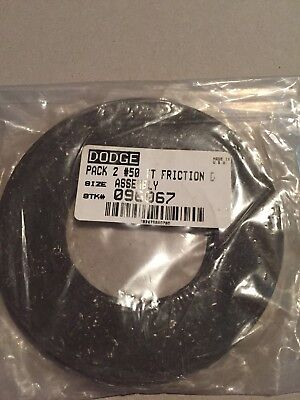 DODGE 096067  #50 Torque Tamer Friction DIsc 2 Pack New