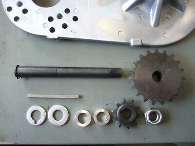 JACKSHAFT KIT - Mini-Bike, Mini Chopper, Go-Kart, Bolt on, #40 Chain 16t,  10t
