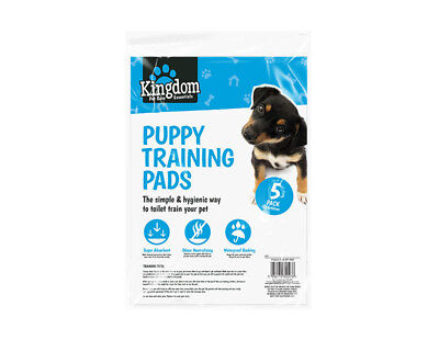 LARGE PUPPY TRAINING TRAINER TRAIN PADS TOILET PEE WEE MATS DOG CAT 50x40 CM