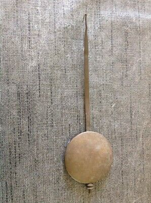 Antique Clock Pendulum For Wall Clock 68g 52mm Diameter 179mm Long