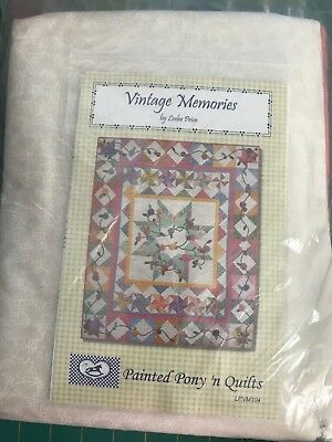 Vintage Memories Large Lap Quilt Kit
