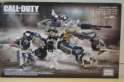 Mega-Bloks  CALL OF DUTY  ATLAS MOBILE TURRET    NEU&OVP   CNG85