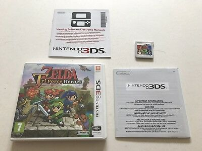 The Legend of Zelda: Tri Force Heroes Nintendo 3DS Boxed PAL Original Release