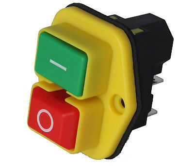 Stop Start Switch Fits Belle Cement Mixer Minimix 150 110v