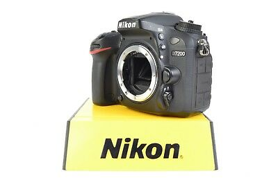 Nikon D7200 24.2 MP Digital SLR Camera Black (Body Only) #J13030