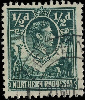 """Northern Rhodesia - """" Serenje """" Double Circle Date Stamp On Sg 25"""