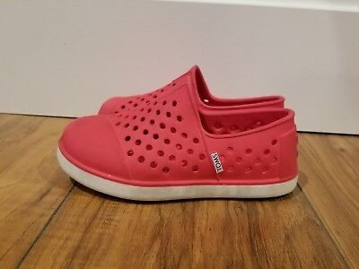 TOM/'S CLASSICS GLITTERS 007013D11 COLOR RED,SILVER TODDLER SIZES:T6 TO T11 NWT