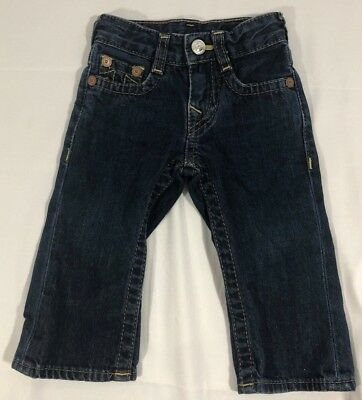 True Religion Baby Billy Jeans Infant Toddler Baby Size 6-12 Months Denim Pants