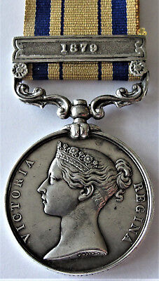 South Africa 1879  Zulu War  Medal  -- Has Some Alterations --  But Entitled
