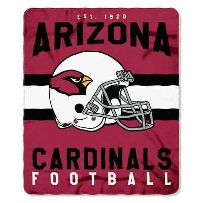 Arizona Cardinals Football Established 1920 Fleece Throw Blanket
