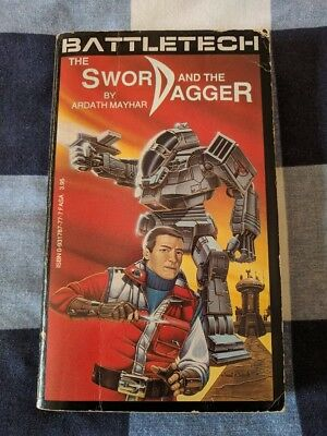 The Sword and the Dagger BATTLETECH #1 by Ardath Mayhar 1st Ed. Book Novel