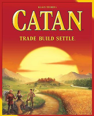Settlers of Catan Strategy Board Game, Award Winning 5th Edition, 3 or 4 Players