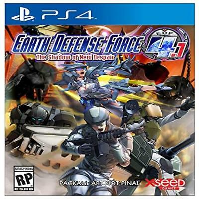 Earth Defense Force 4.1: The Shadow Of Despair Playstation 4 Kids Game Xseed New