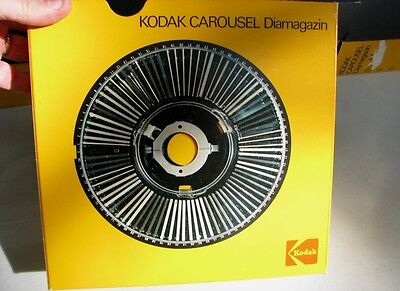 Kodak Carousel Slide Tray lot of 6 (80 slides per tray) Excellent (Loc=Lkr 5)