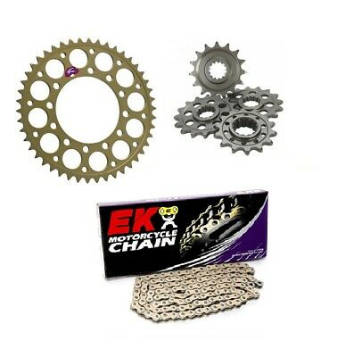Suzuki SFV650 Gladius 2009-2015 Renthal & EK Chain & Sprocket Kit