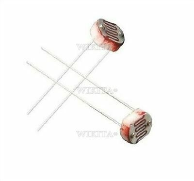 50Pcs Optoresistor Photoresistor Photo Light Sensitive Resistor 5Mm GL5528 Ic zb