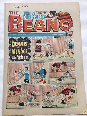 DC Thompson THE BEANO Comic. Issue 1890 October 7th 1978 **Free UK Postage**