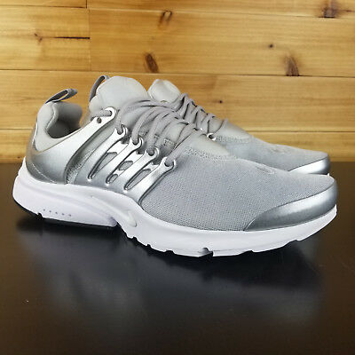 Nike Air Presto Premium Running Shoes Metallic Silver Platinum 848141-001 1be6dda8c