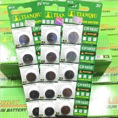 10PCS CR1632 1632 3V Coin Button Batteries Cell Battery For Watch Toys Remote EF