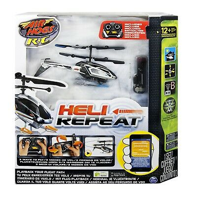 Air Hogs - Heli Repeat Indoor/Outdoor / AUCH ÜBER SMARTPHONE / TABLET STEUERBAR