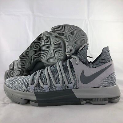 check out d69e4 07e02 ... Igloo White Sz 10 NEW 897815  Nike Zoom KD10 Wolf Grey Cool Grey 897815-007  Men s 10.5 Kevin Durant Shoes ...